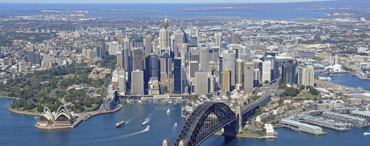 Aerial Photo Of Sydney City 000027662833 Large