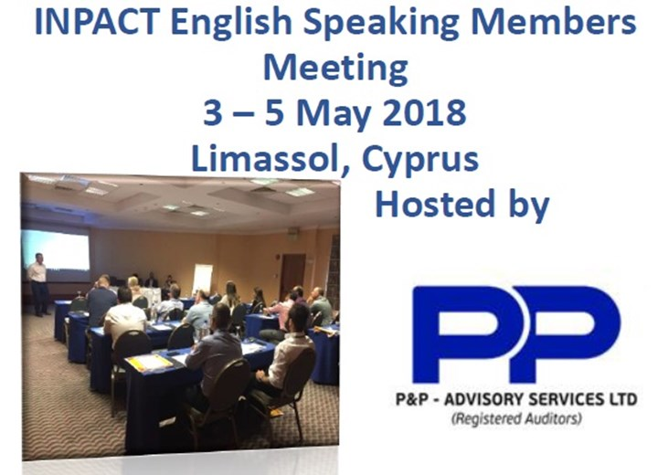 English Speaking Meeting 2018