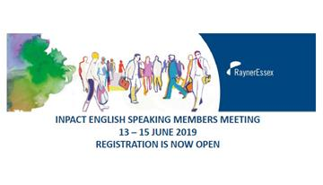 ENGLISH SPEAKING MEMBERS MEETING 2019 - REGISTRATION OPENS