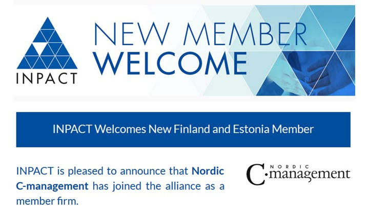 INPACT Welcomes New Finland and Estonia Member – Nordic C-management