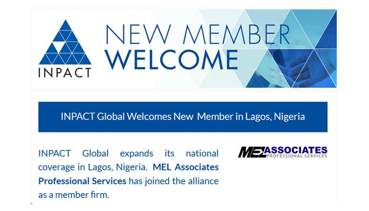 INPACT Global Welcomes New Member in Lagos, Nigeria